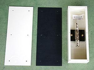 端子ボックス(硬質ビニール製埋込用)